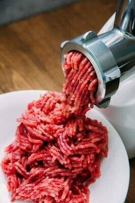 Carne molida de res de primera