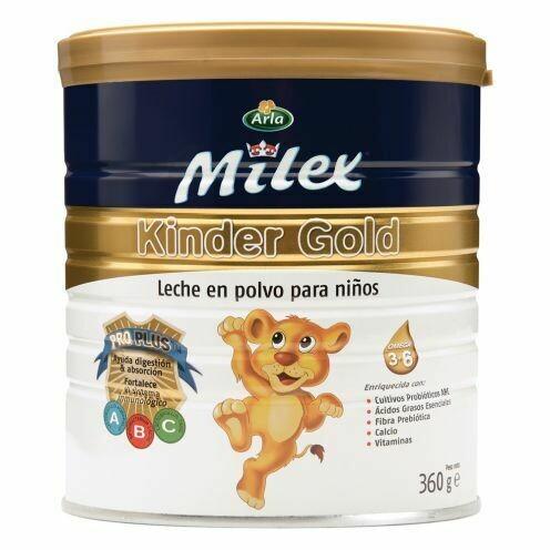 Leche Milex KINDER GOLD (360 GR)
