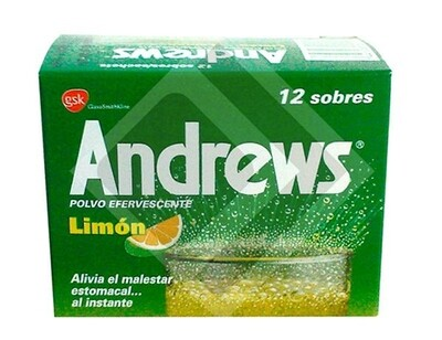Sal Andrews Limón 12 Sobres