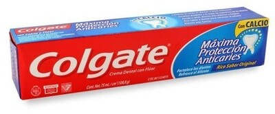 Crema Dental Colgate Anticaries 100 Ml.