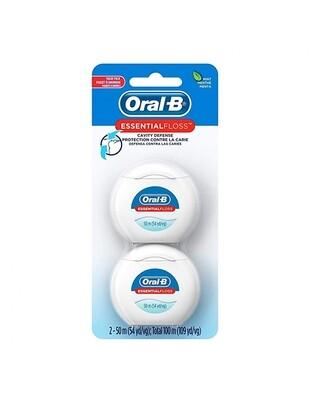 Hilo Dental Oral Essent Mint 54 Yd 2 Pack.