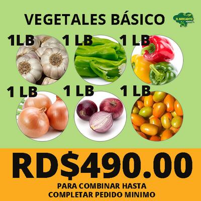 Vegetales básico