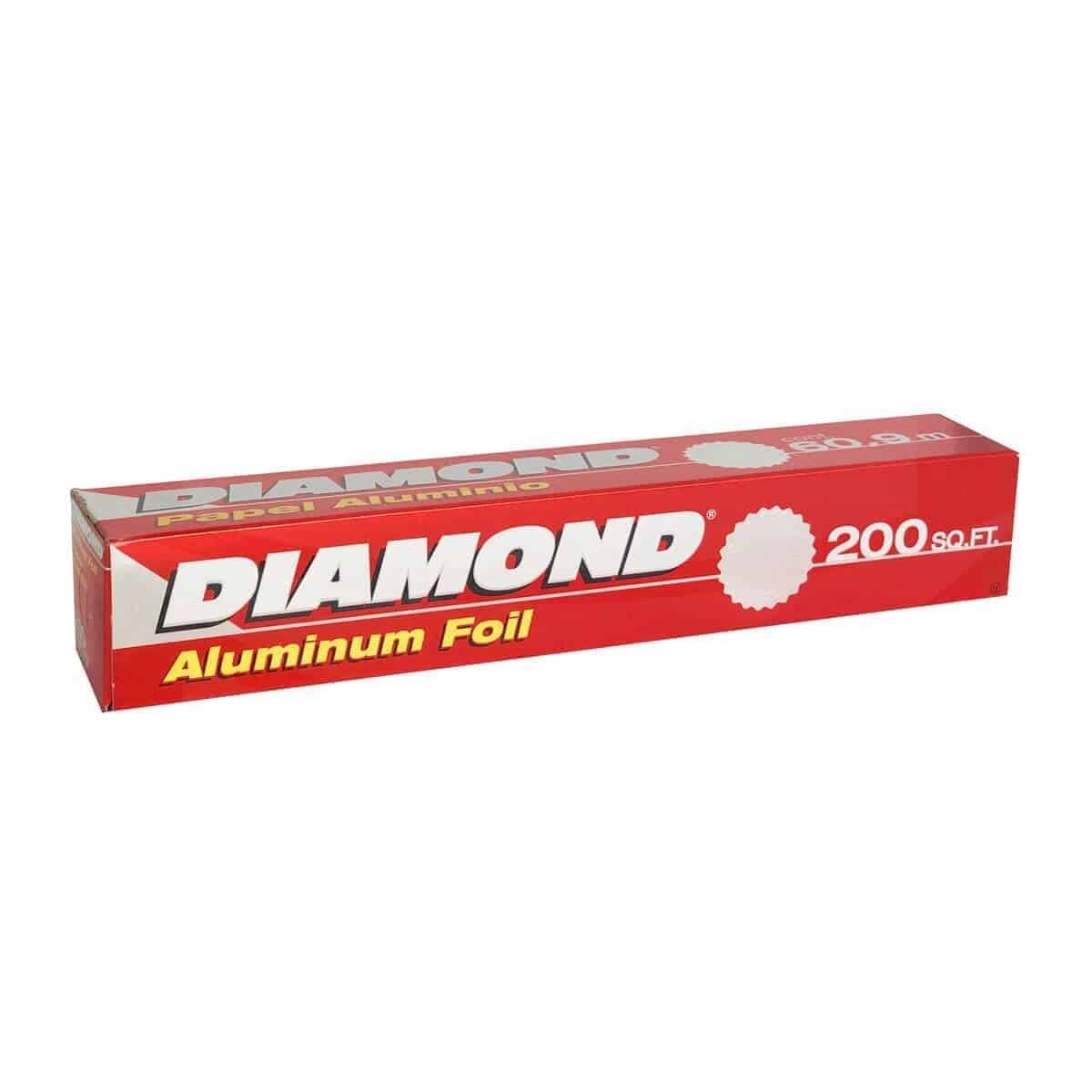 Papel Aluminio Diamond Foil 200 Ft- S
