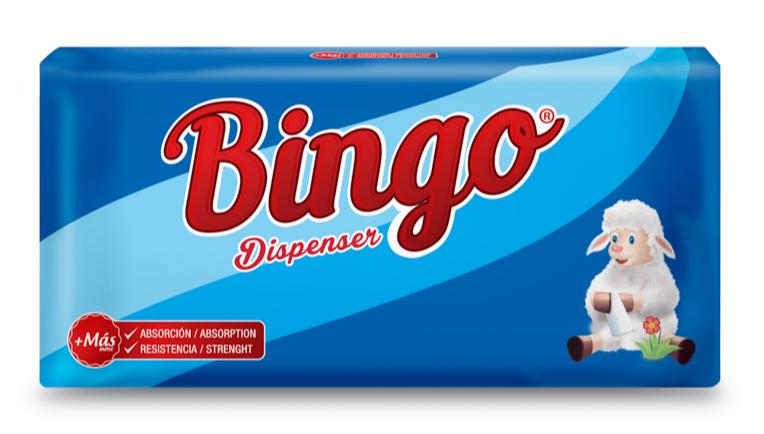 Servilletas Bingo 360 Uds.- S