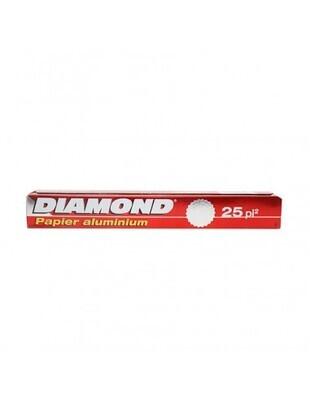 Papel Aluminio Diamond 25 Ft- S