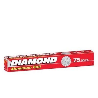 Papel Aluminio Diamond 37.5 Pies.- S