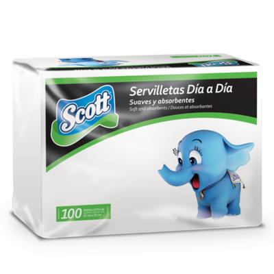 Servilleta Scott Dia A Dia Deco 100 Uds.- S