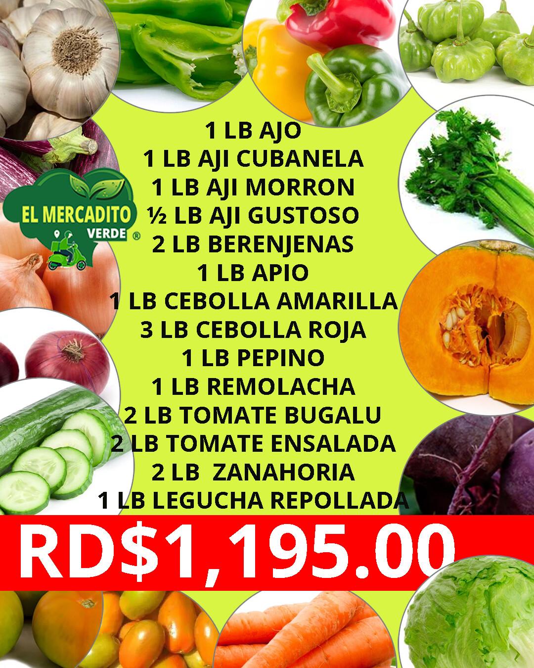Combo vegetales