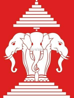 3 Head Elephant LAO