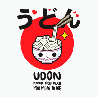 UDON t-shirt
