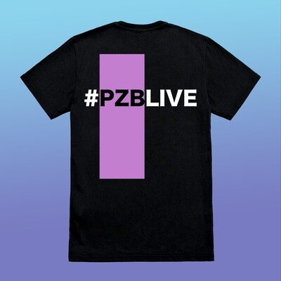 PZB LIVE Hashtag Tee