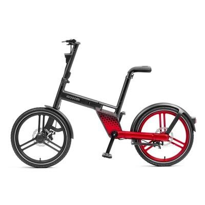 IGOGOMI  36V Electric Folding Bike Chainless - Red