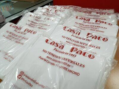 Bolsas Plásticas de 40 x 50 cm
