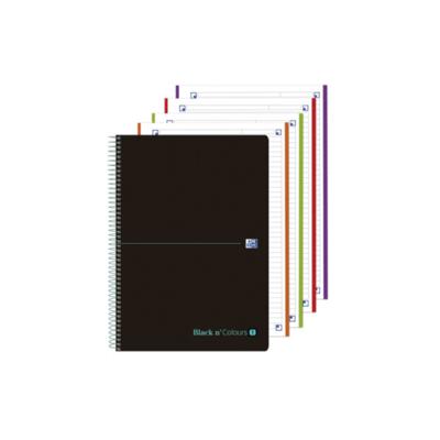 Cuaderno Oxford Black N´Colours 8 5x5 160 Páginas A4