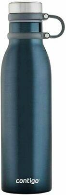 Botella de agua personalizada . Modelo Contigo de Acero