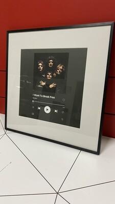 MusicPrint 50x50