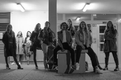 Série Photographique Women are not afraid, par Pauline Makoveitchoux