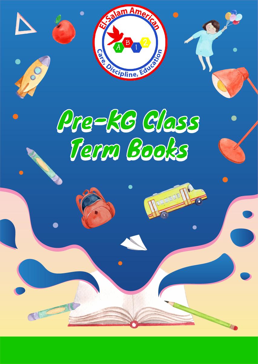 Pre-KG Term Activity Books
