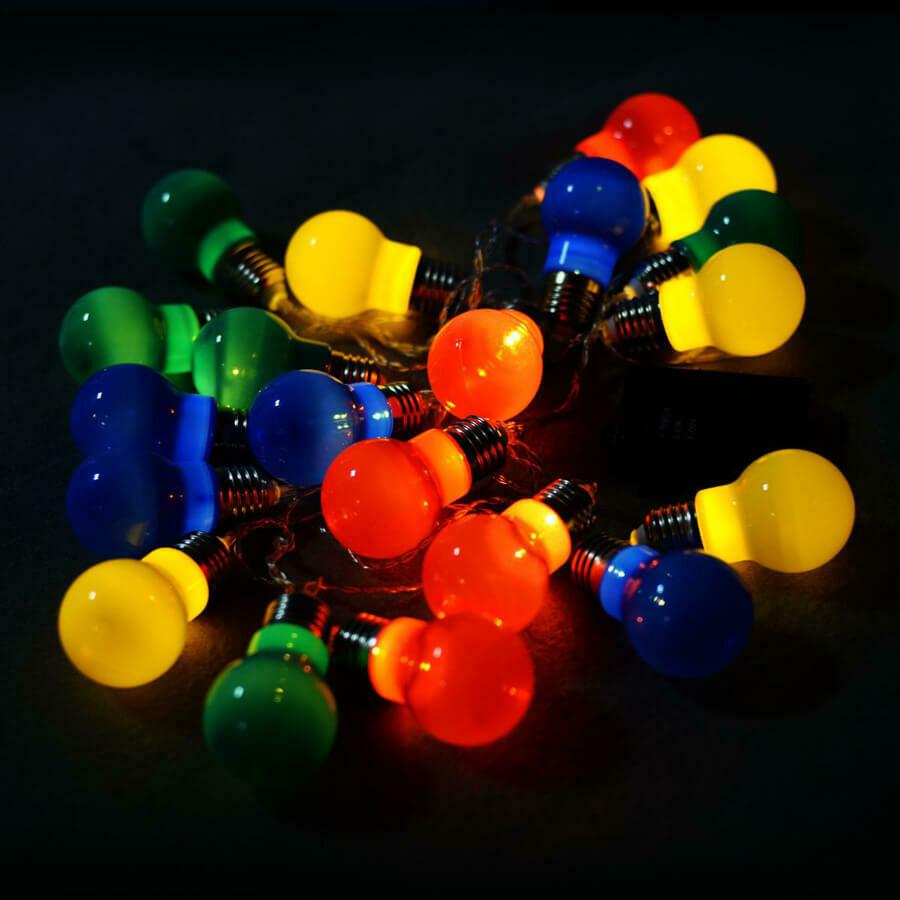Colorful LED String Ball Lights
