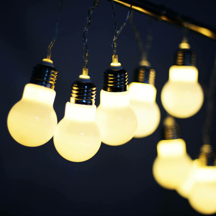 LED String Ball Decor Fairy Lamp