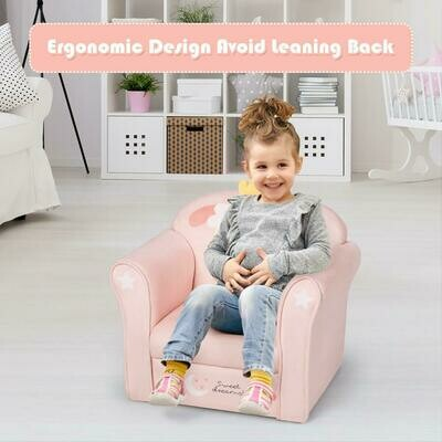 Kids Furniture Lamb Sofa Children Armrest Couch