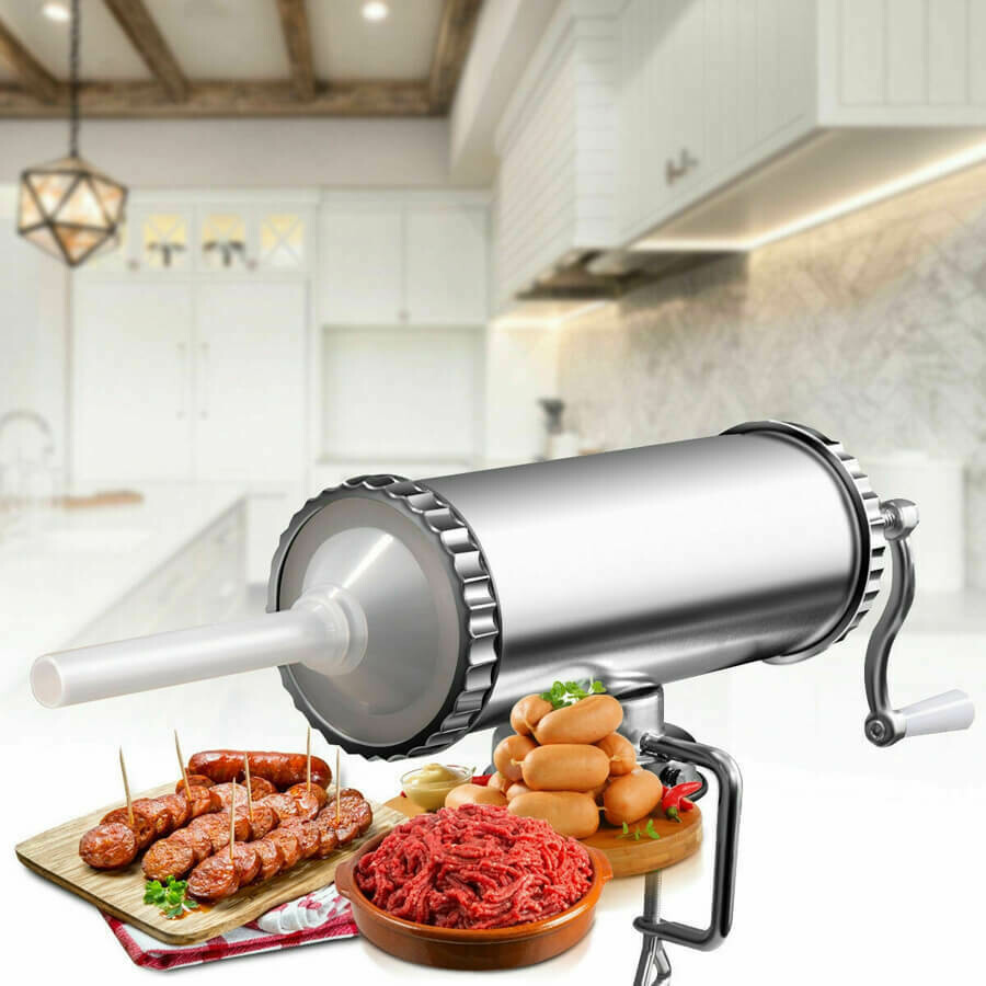Manual Sausage Stuffer Maker with Suction Base 3 L