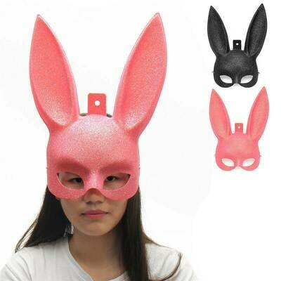 Halloween Party Cosplay Fancy Rabbit Face Mask
