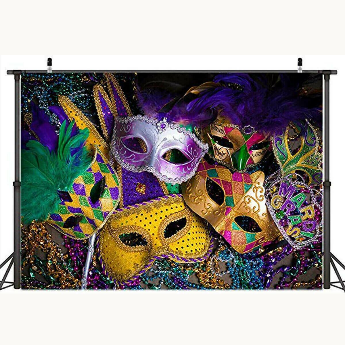 Vinyl Halloween Mask Photography Backdrop Background Studio