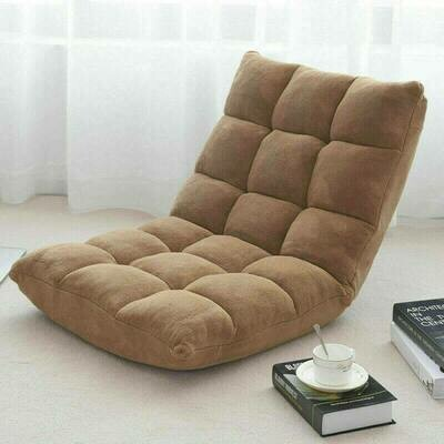 Cushioned Floor Chair Adjustable 14-position