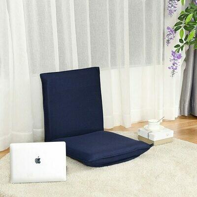 Adjustable 6-position Floor Chair Folding Lazy Man Sofa Chair