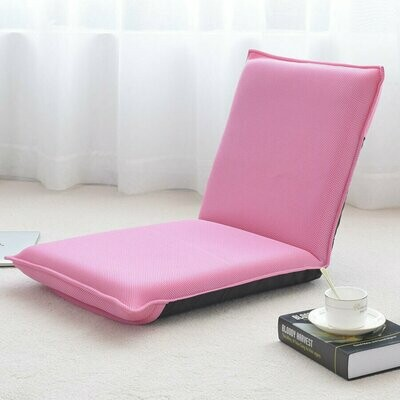 Adjustable 6-position Floor Chair Folding Lazy Man Sofa Chair