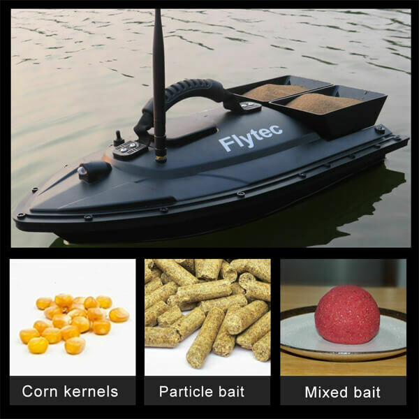 Fishing Bait RC Boat Double Motor Toys