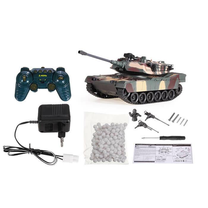 1/18 2.4G RC Tank Car Vehicle Models Battle Toy