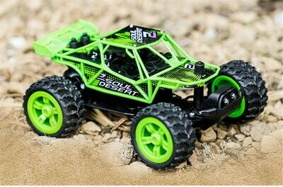 1/32 2.4G RWD Mini Electric RC Car with LED Light Off-Road Vehicles RTR Model