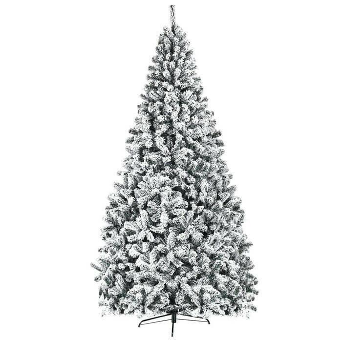 Premium Snow Flocked Hinged Artificial Christmas Tree