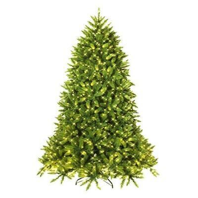 Pre-lit PVC Christmas Fir Tree with 700 LED Light