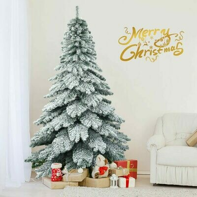 7.5ft Snow Flocked Artificial Christmas Tree