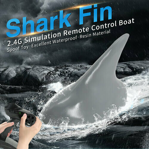 2.4G 4CH Electric RC Boat Simulation Shark Animal RTR Model Swimming Toys