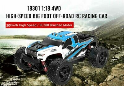 1/18 2.4G 4WD High Speed Big Foot RC Racing Car OFF Road Vehicle Toys