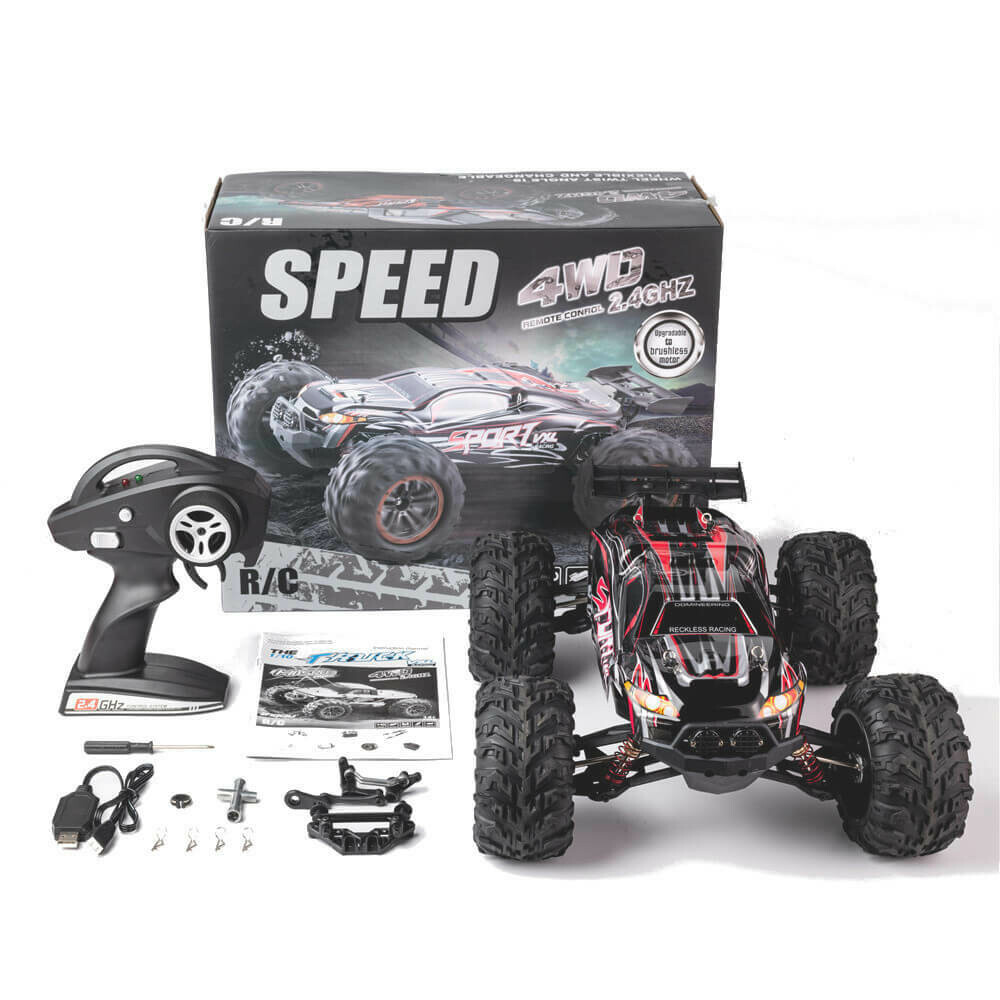 1/10 2.4G 4WD 60km/h Brushless RC Car Model Electric Off-Road RTR Vehicles