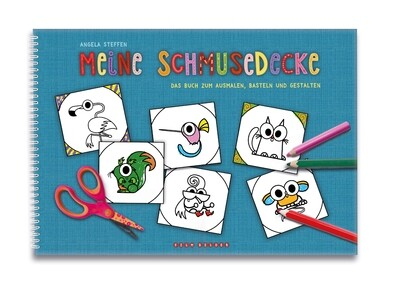 Colouring book: Patchwork Pals