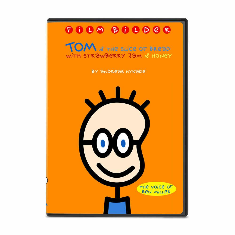 DVD: TOM & the slice of bread with strawberry jam & honey