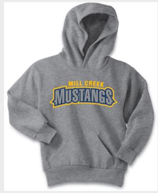 MCA Mustangs Pullover Hooded Sweatshirt