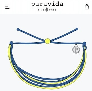 Pura Vida Mill Creek Academy Custom Spirit Bracelet