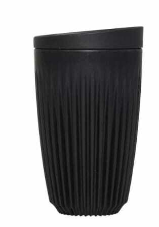 Huskee Cup 350ml and Lid Charcoal