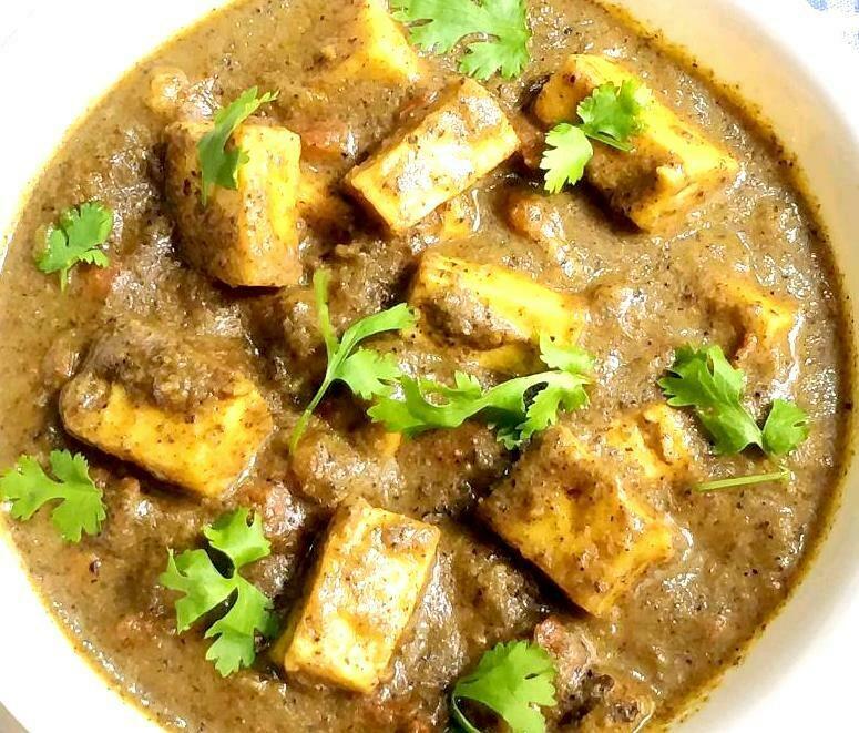 Chettinadu Paneer Curry