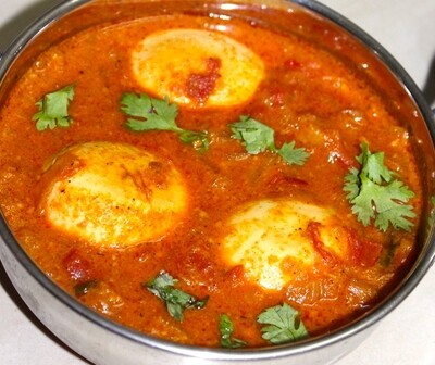 South Indian Style Egg Korma