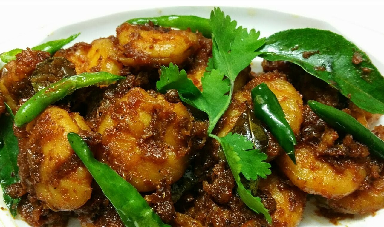 Royyala Vepudu (Shrimp Fry)