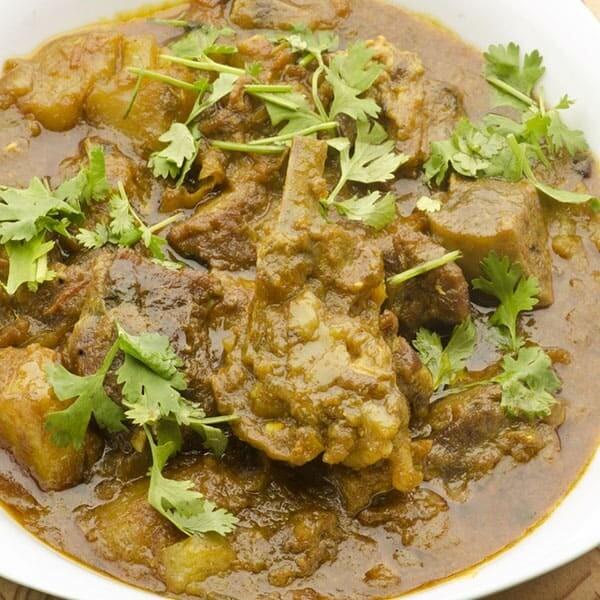 Gongura Lamb Curry