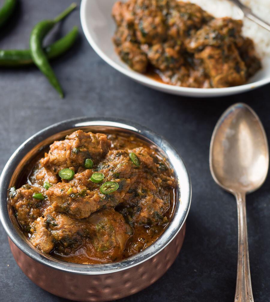Saag Lamb Curry